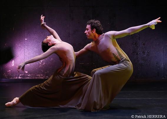 «Застенчивые»: танцуют Э.Клейн и Д.Поп
