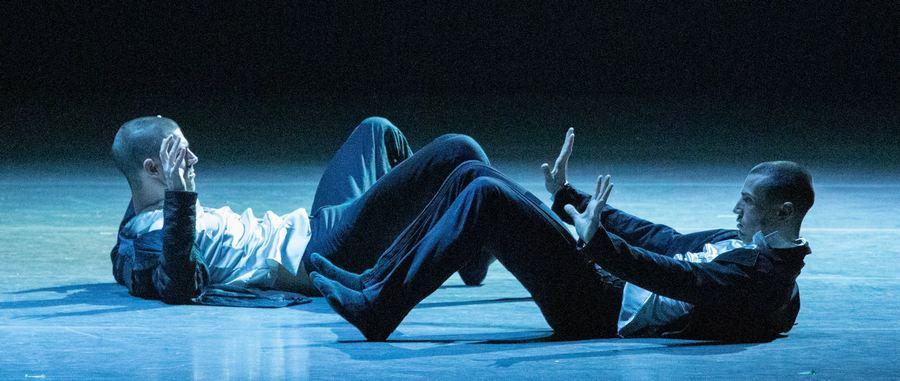 Дуэт из пьесы «Другой ты» танцуют М.Гросс и Э.Мёрдок