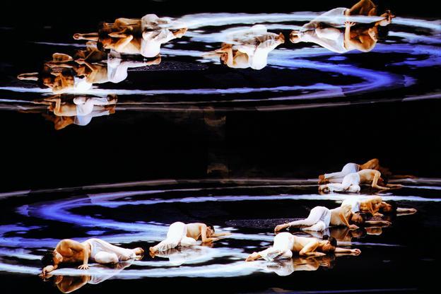 Фрагмент спектакля «Лунная вода»