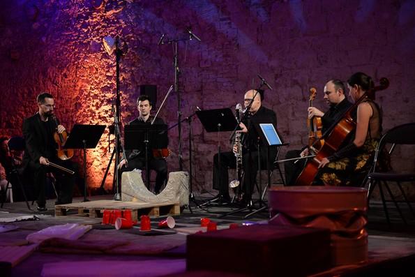 Выступают квартет Tana и кларнетист Alain Billard