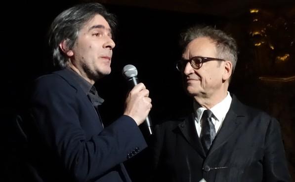 Марк Мене и Александрос Маркеас (слева) перед началом концерта