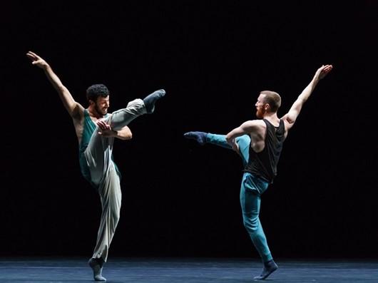 Фрагмент из первого акта «Тихого вечера танца»