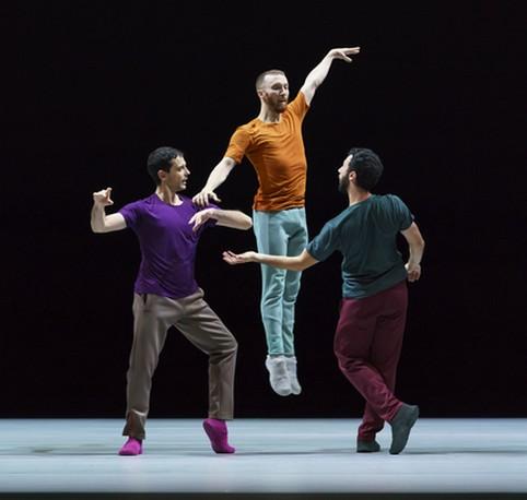 Фрагмент из второго акта «Тихого вечера танца»