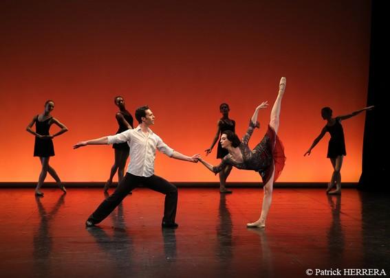 Фрагмент хореографической картины «Смотри»