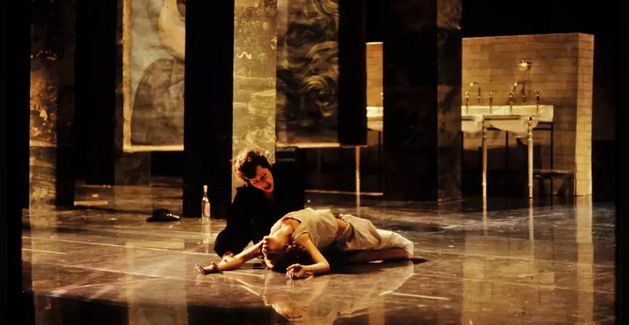 Lulu d'Alban Berg à l'Opéra de Paris, mise en scène de Patrice Chéreau.