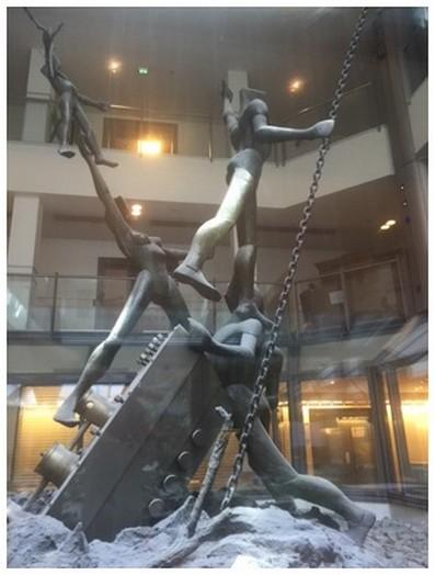 Скульптура Игоря Устинова