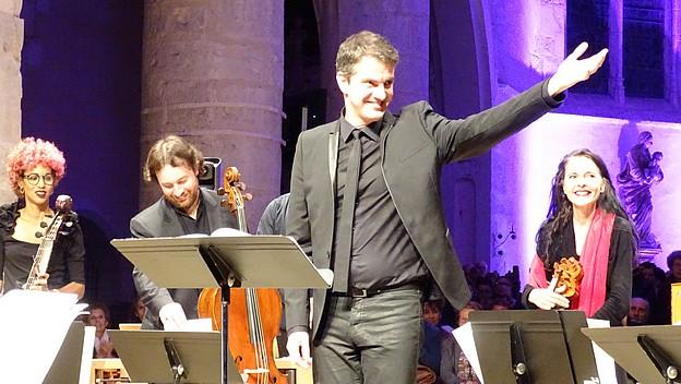 Выступление Филиппа Жарусски на Фестивале Амброней - 2017