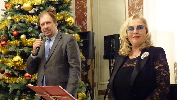 Константин Волков и Стелла Калинина открывают вечер