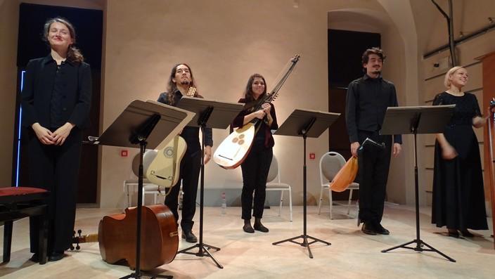 Итальянский ансамбль Concerto di Margherita.
